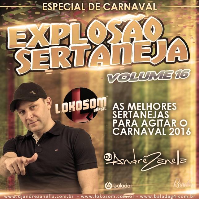 EXPLOSÃO SERTANEJA VOLUME 16 ESP.CARNAVAL - DJ ANDRE ZANELLA