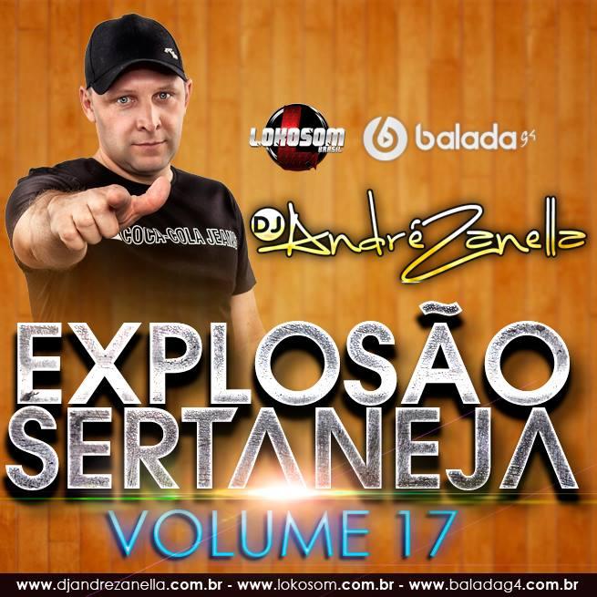 EXPLOSÃO SERTANEJA 17 - DJ ANDRE ZANELLA