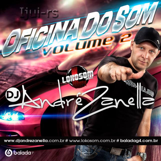 OFICINA DO SOM VOLUME 2 - DJ ANDRE ZANELLA