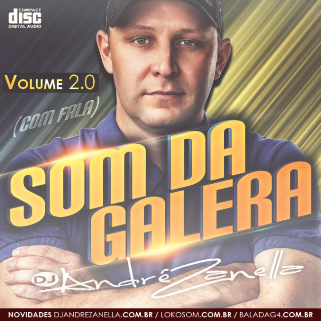CAPA-Som da Galera Volume 2 - Dj Andre Zanella 2016