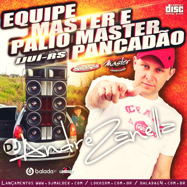 PALIO MASTER PANCADÃO - DJ ANDRE ZANELLA