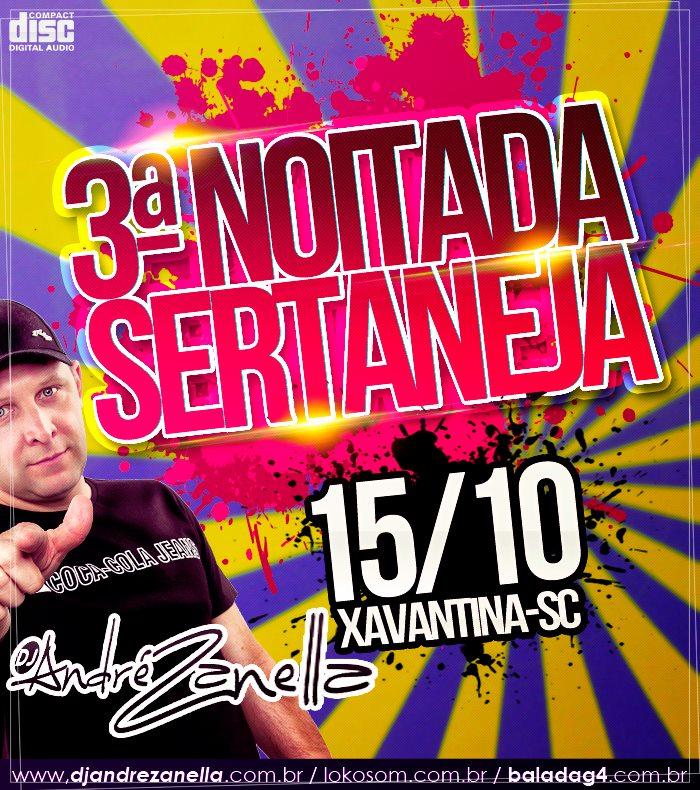 NOITADA SERTANEJA - DJ ANDRE ZANELLA