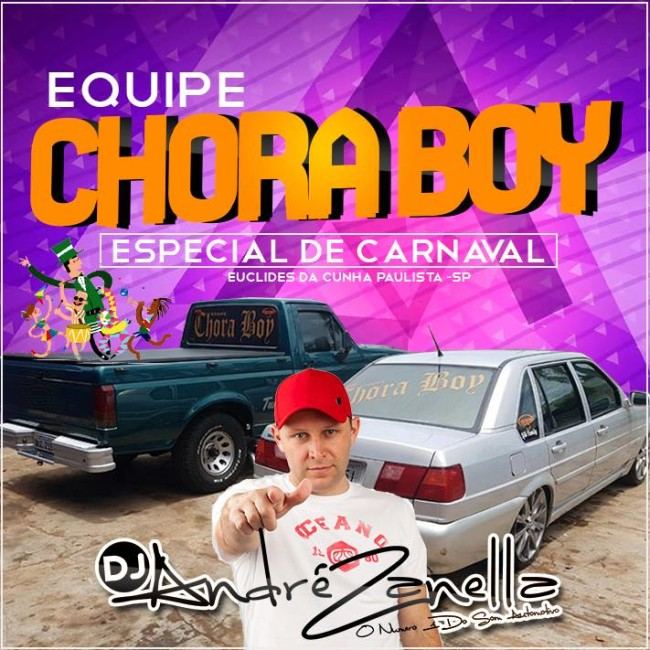 capa chora boy carnaval